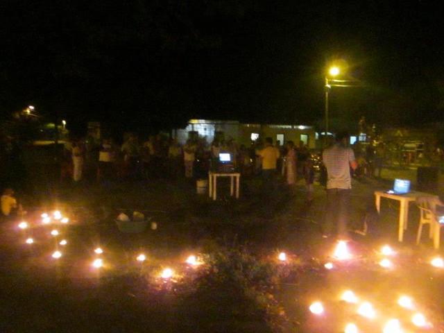 Noche de candiles