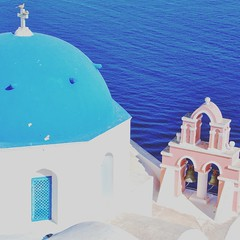 Colours of Greece (Will.H. http://this-is-my-world123.blogspot.co.uk) Tags: greece santorini oia colours cyclades greekislands churches