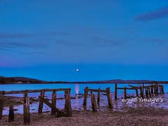 Blue Hour, Old pier ar Fahan, Co. Donegal. (willieguildea) Tags: water watersdape sea river lough loughswilly donegal ireland eire inishowen ulster pier harbour quay sky twilight coast coastal nikon seaside beach ocean bythesea seascape