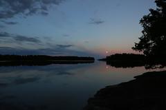 Moonlight sea-sky-landscape (liisatuulia) Tags: kuutamo porkkala fullmoon evening moonlight finland sea water reflection