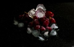 Grapes & Ice (Inian4mIndia) Tags: ice grape grapes dark fruits nikon cube cubes