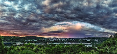 IMG_4142-45Ptzl1scTBbLGER3 (ultravivid imaging) Tags: ultravividimaging ultra vivid imaging ultravivid colorful canon canon5dmk2 clouds sunsetclouds stormclouds scenic summer vista pa rural evening pennsylvania panoramic painterly rainyday rain bellevernon