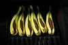 DSC_1686 (vargandras) Tags: banana chocolate grill sunlight food dessert green yellow brown 1685mmf3556gvr