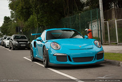 GT3RS (Andre.Siloto) Tags: porsche 911 991 gt3rs gt3 rs miami blue azul curitiba ctba cwb ctbaexotics paraná pr brasil brazil bra br nikon d3200 2017