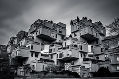 Habitat (s.W.s.) Tags: habitat67 montreal quebec canada architecture architectural building abstract longexposure ndfilter neutraldensity lightroom nikon d3300 urban city