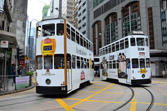 xxx 42 Hong Kong Tramways 26 (Stella Artois) (Howard_Pulling) Tags: hongkongtramtramsstrassenbahnmtrmtr light railhkhoward pulling