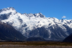 Mount Cook National Park (Alan1954) Tags: newzealand nature beauty snow mountains mountcooknationalpark holiday 2014
