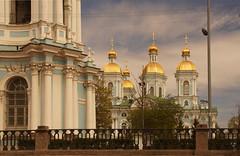 St. Nicholas Naval Cathedral (view from the Kryukov Canal) (Sergei P. Zubkov) Tags: church stpetersburg orthodox may 2017