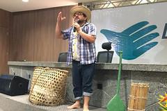 Começar de Novo juiz faz stand up para divulgar projeto em Belém (fotografia_cnj) Tags: cláudio rendeiro encarna personagem epaminondas gustavo e discute ressocialização divulgaçãotjpa