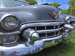 Cadillac Day (6) (AntyDiluvian) Tags: boston massachusetts brookline larzanderson automuseum vintagecars vintageautos vintageautomobiles cadillacday lawn 1953 fleetwood