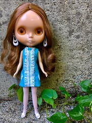 Cinnamon Girl, Cindy in a Francie 1967 dress.