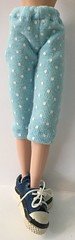 These Baby Blues...Capri Pants For Blythe...