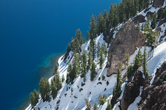 clear crater (renrenskyy) Tags: crater lake craterlake nationalpark oregon hiking optoutside reflections reflection mountains volcano