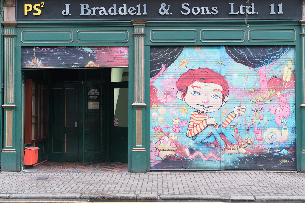 STREET ART AND GRAFFITI IN BELFAST [ANYTHING BUT THE FAMOUS MURALS]-129168