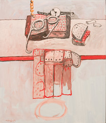 Table Top, 1979 (Jonathan Lurie) Tags: wisconsin mam art museums milwaukee museum artinmuseums milwaukeeartmuseum milwaukeewisconsin unitedstates us table top oil painting philip guston modern canvas
