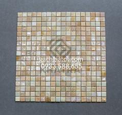 Gạch Mosaic Xà cừ caro