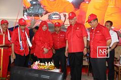 """Majlis pelancaran program """"Jom Bantu Rakyat ' dan Majlis pecah tanah tapak perumahan Idaman rakyat SPNB.Kg.Santong,Paka,Terengganu.16/4/17"""