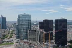 Eiffel Tower @ Rooftop observatory @ Grande Arche @ La Défense @ Paris