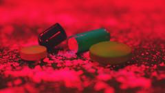 Poisonous Pills MM (idineshsoni) Tags: macrophotography macromonday red danger pills poison poisonous hmm