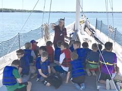 Students on Winnie Estelle (Chesapeake Bay Maritime Museum Photos) Tags: cbmm winnie estelle ecology cruise