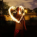 Heart From Sparklers