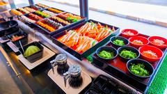 ไลน์อาหารญี่ปุ่น ซาชิมิ ของร้าน Shabu for U