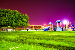 Play House ! (Muhammed Fawaz Sherief) Tags: green children park games rides fun night shoot nikon d5300 saudi ksa corniche people lights sky