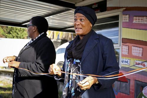 South Africa Cym van Dyke Clinic Opening