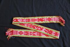 Woven Sash Faja Belt Oaxaca Mexico (Teyacapan) Tags: faja belts sash oaxaca zapotec jalieza weavings textiles
