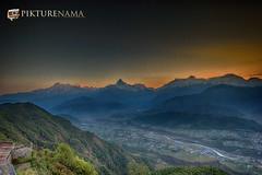 sarangkot- sunrise-3 p copy (anindya0909) Tags: nepal sarangkot sunise sunrise