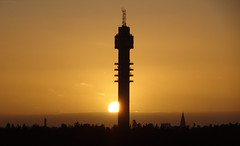 Last Christmas! (sunset tower) (crush777roxx) Tags: crush777roxx crush 20161224 2016 december 24th compact camera sony hx90v tower kaknästornet kaknäs gärdet stockholm sweden sverige zoom christmas sunset sun silhouette gold orange clouds sky lastchristmas orangesky goldensunset silhouettedtower stockholmtower stockholmsweden compactcamera sonyhx90v