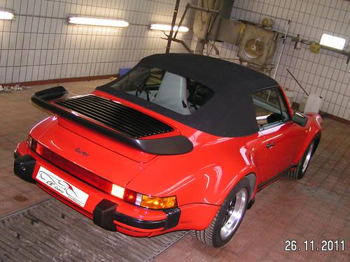 Porsche 964 Carrera Convertible Top
