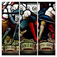 St John the Baptist church, Bere Regis, Dorset, UK (a.pierre4840) Tags: panasonic lumix gm1 14mm f25 church window windows collage stainedglass bereregis dorset england