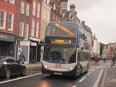 Stagecoach East 19583 AE10BWU St Andrews St, Cambridge on 4 (1280x960) (dearingbuspix) Tags: stagecoach stagecoacheast citi stagecoachcambridgeshire cambridgeciti ae10bwu 19583