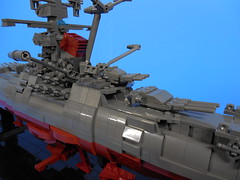 Space Battleship Yamato (marchetti36) Tags: lego spacebattleshipyamato13 space battleship yamato argo star blazers cruiser