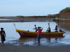Fishermen Las Penitas (bhibhi2012) Tags: nicaragua fishermen pêcheurs barque