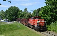 DB Cargo 6433, Zwijndrecht, 24-5-2017 (Derquinho) Tags: 62524 kijfhoek zwijndrecht buizentrein tubes train van leeuwen buizen db cargo 6433 6400 mak