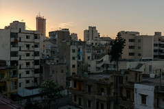 Achrafieh Skyline - الأشرفية (GLVF) Tags: الأشرفية achrafieh beirut beyrouth liban lebanon skyline buildings bâtiments immeubles architechture sunset coucherdesoleil croix chist chrétien maronite arménien