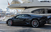 Black Lamborghini Huracan LP610-4 #4 :: HDR (servalpe) Tags: huracan puertobanús lambo canon lamborghini colorefex marbella auto 5dmarkiii supercars hypercars 2470 ef2470mmf4lisusm lamborghinihuracan banus cars automotion servalpe automobile lamborghinihuracanlp6104 canoneos5dmarkiii andalucía spain es