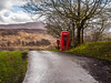 Hello, someone there? (Paco CT) Tags: arbol cabinatelefonica construccion construction motif paisaje tree landscape phonebooth phonebox telephonebooth telephonebox bohuntinville highland scotland gb pacoct 2017 outdoor communication isolate technology