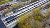 The Train Station (Tilt-Shift) (Serge Babineau) Tags: train montreal amt gare station tilt shift tiltshift miniature model agence métropolitaine transport rail commute transportation lucien lallier