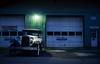 time travel (PenelopeEfstop) Tags: night auto car uxbridge vintage outdoor hopperesque garage classiccar