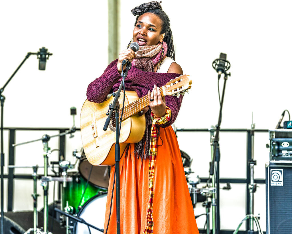 Ines Khai Performing At Africa Day In Dublin [ The Artist Is From Anse Bertrand, Guadeloupe]-128584