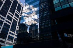 Building Reflection (SonnySixteen) Tags: buidling reflection sky