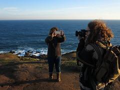 La foto de la foto de la foto (Calvipitecus) Tags: calvipitecus chile canonpowershotg15 fotógrafos litoral cantalao