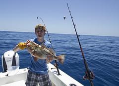 Gulf Grouper Fishing (Razzo1988) Tags: fish fishing grouper red florida southwest salt life offshore gulfofmexico boat boating blue garrettfairburn