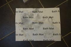 Absorbent bath mat (Sparky the Neon Cat) Tags: europe uk united kingdom gb great britain scotland scottish highland north ballachulish creag mhor lodge bathroom bath mat