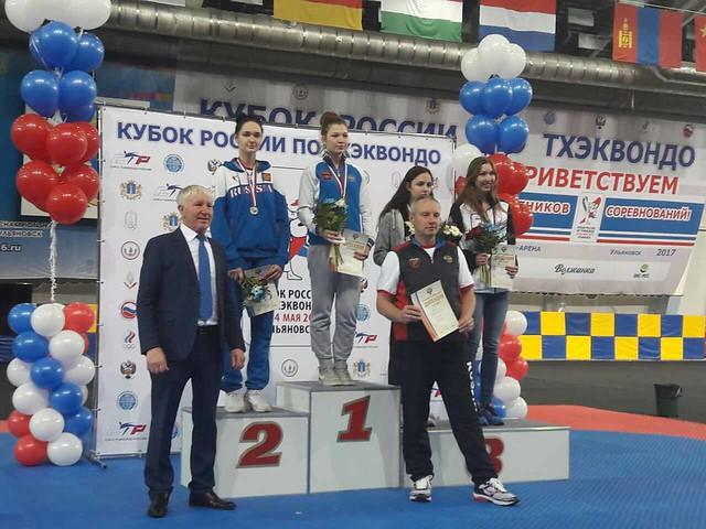 Богдан Гречкин завоевал 3-е место накубке РФ потхэквондо ВТФ