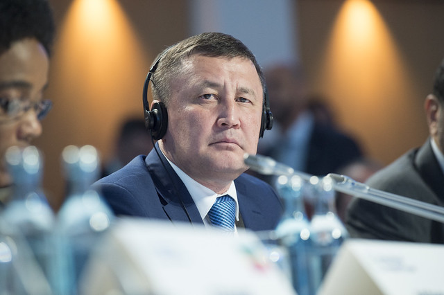 Zamir Saginov listening