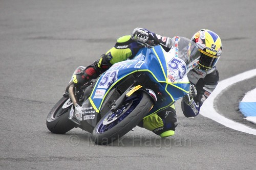 Valentin Grimoux in World Supersport 300 at Donington Park, May 2017
